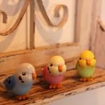 Takara Tomy's Manekko P-Chan talking parakeet toy