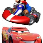 Cars 2 Wii game vs. Mario Kart