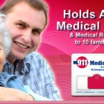 911 Medical ID card