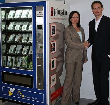Memory Card Vending
