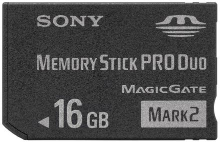 16GB Memory Stick Pro