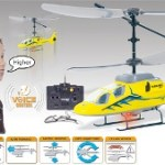 Voice-Heli: Voice-controlled helicopter from Nikko