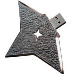 The Ninja Shuriken shaped USB Drive