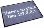 There\'s no place like 127.0.0.1 Door/Floor mat