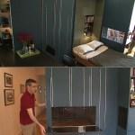 """Manhattan dweller creates """"Origami Apartment"""""""