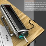 P&P Office Waste Paper Processor turns paper into pencils