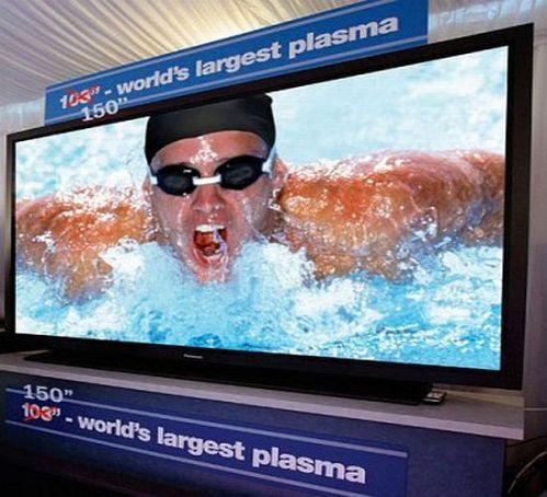 Panasonic 150 inch plasma
