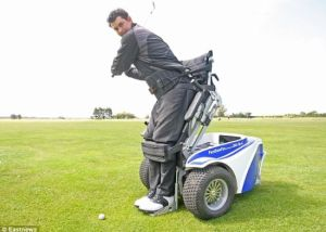 Paragolfer makes playing 18 a breeze for the disabled