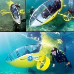 Pedal-Powered Submarine, the Scubster