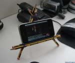 The Pencil iPhone Stand