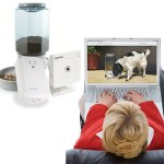 The Remote Pet Feeding & Viewing Camera Kit Large Feeder