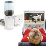 The Remote Pet Feeding & Viewing Camera Kit Large Feeder