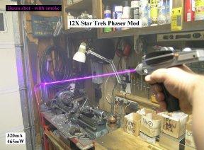 phaser 12X beam