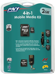4 in 1 media kit by PNY