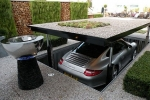 Pop-up Garage Stows Your Car Safely Underground