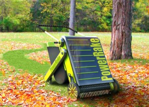 The Power Rake makes fall chores much more efficient