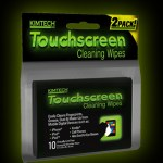 Kimtech Touchscreen Cleaning Wipes are true smudge-busters