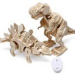 R/C Wooden Puzzle Dinosaurs