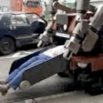 Rescue Robot Removes Victims from Accidents