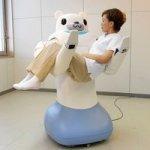 RIBA robot nurse