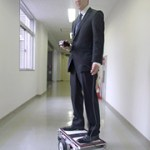 This is a Robotic Skateboard