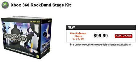 Rock Band Stage Kit