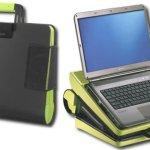Rocketfish Laptop Case turns into lapdesk