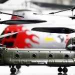 Syma's Micro Chinook Cargo Transport3 is one controlled R/C helicopter