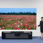 Sanyo short throw projector looks stunning