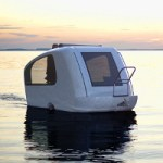 Sealander Schwimmcaravan lets you travel like a boss