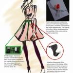 Solar-Powered Dress