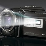Sony HDR-PJ50 is both a camcorder and projector