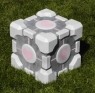 The Portal inspired Weighted Companion Cube Subwoofer