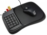 The 3 in 1 Mouse Pad has built-in USB hub