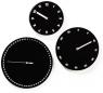 The Three-Face Wall Clock