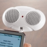 Tiny Audio Bug Speakers for iPod