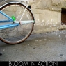 Bicycle bubble machine causes sidewalks to erode