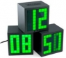 Matrix Cube Alarm Clock