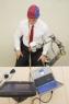 Wheelchair that has own mechanical arm