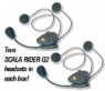 Scala Rider Q2 for Motorcyclists Taking Calls on the Road