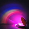 Rainbow projector clock