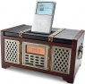 The Retro Clock Radio with iPod Dock