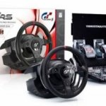 Thrustmaster T500 RS wheel and pedal set ready to rock your living room