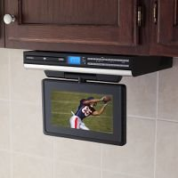Under Cabinet TV With DVD Player Coolest Gadgets
