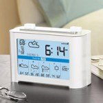 Weathercast Wireless Forecaster Alarm Clock
