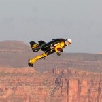 Jetman soars over the Grand Canyon