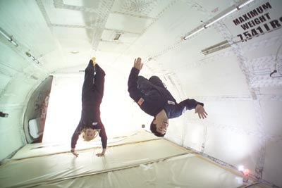 ZERO-G in-flight