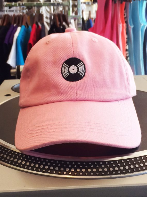 Pink Coolin Out Dad Hat 1