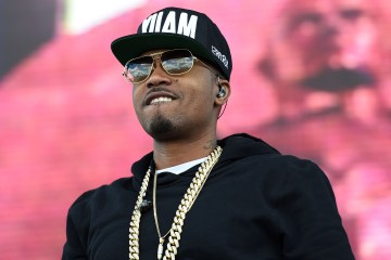 BALTIMORE, MD - MAY 17:  Rapper Nas performs prior to the 139th running of the Preakness Stakes at Pimlico Race Course on May 17, 2014 in Baltimore, Maryland.  (Photo by Molly Riley/Getty Images)