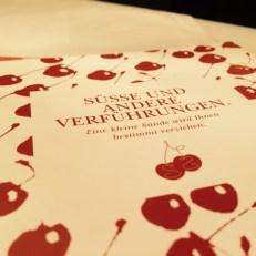 Kirschlaube - Speisekarte